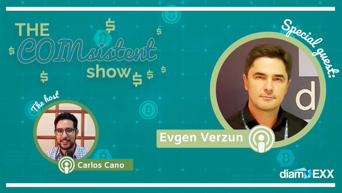 The COINsistent Show: Decentralized Cybersecure Cloud?! Hypersphere's Founder, Evgen Verzun: The COINsistent Show #5