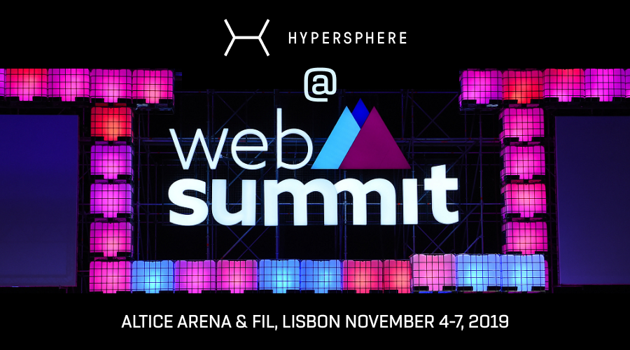 HyperSphere Is Coming To Web Summit 2019